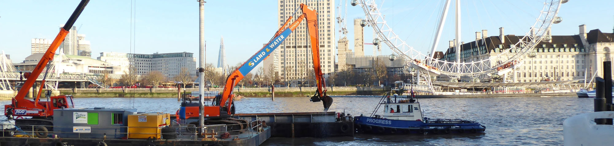 Dredging Solution Keeps Iconic Thames Tideway Project on Track