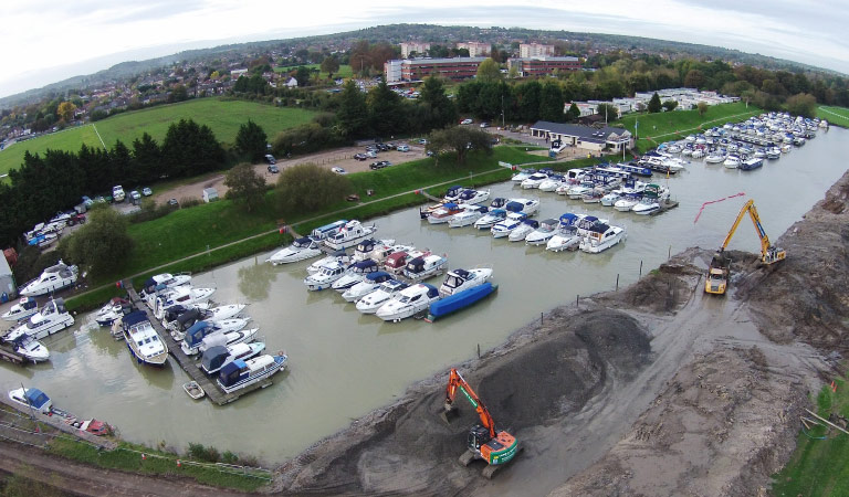 Windsor marina extension