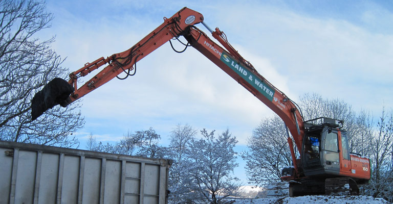 ZX130 13m 17 Tonne Long Reach Excavator 1