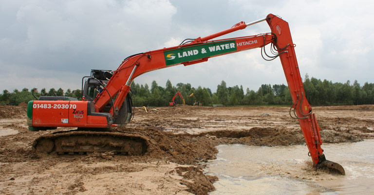 ZX130 13m 17 Tonne Long Reach Excavator 2