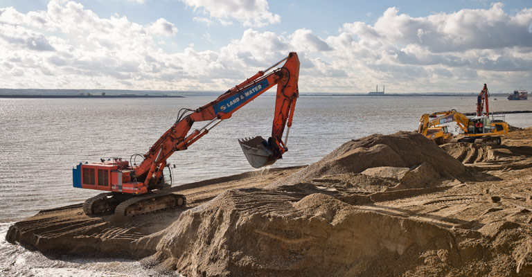 ZX850 21m 115 Tonne Long Reach Excavator 1