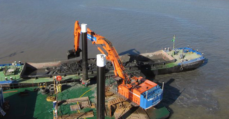 ZX850 21m 115 Tonne Long Reach Excavator 2