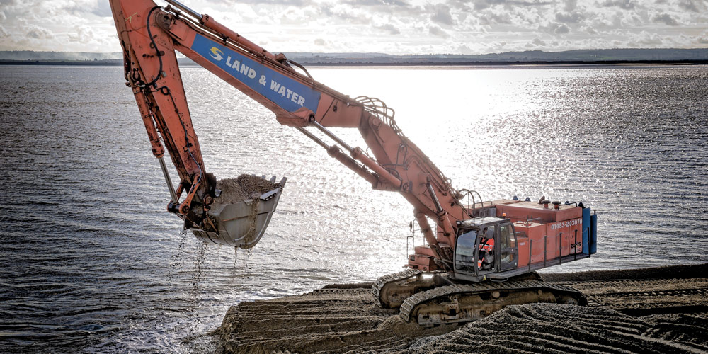 ZX850 21m 115 Tonne Long Reach Excavator main