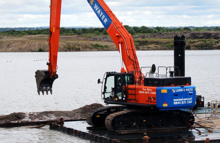 Astley Moss floating quarrying